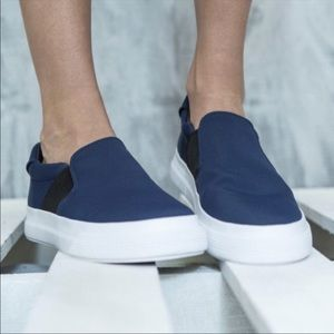 Vince Torin Midnight Blue Slip On Sneakers